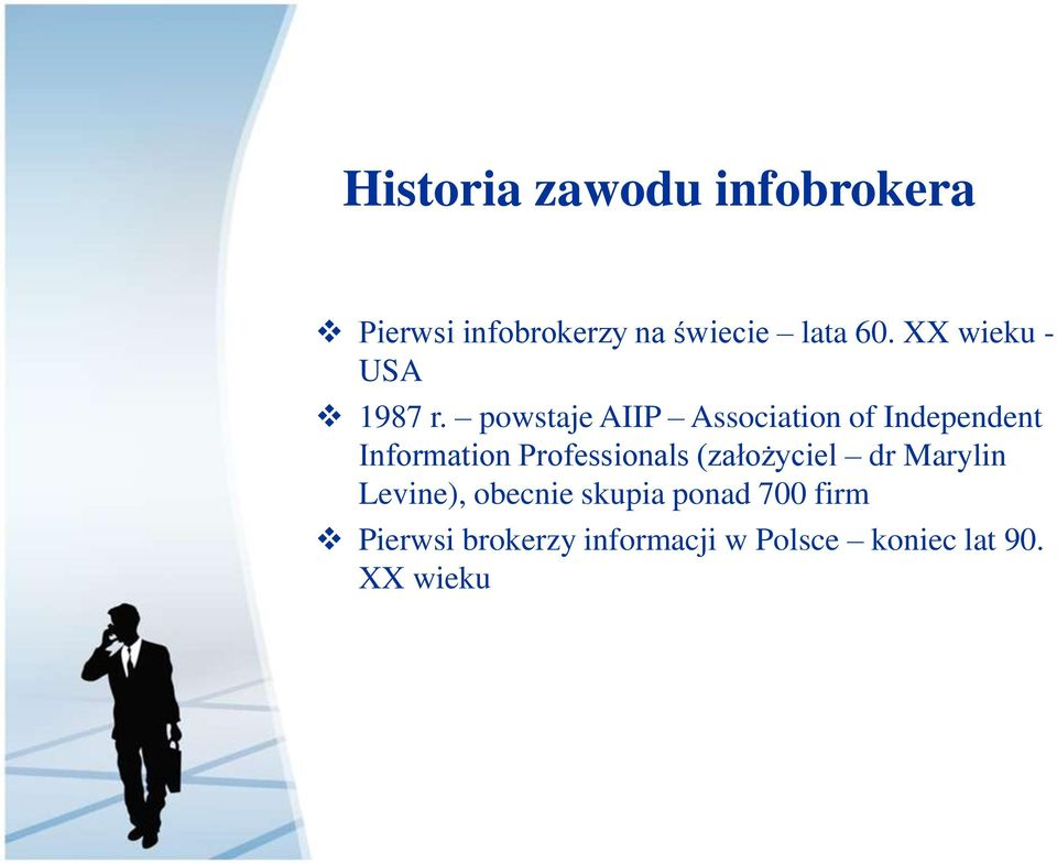 powstaje AIIP Association of Independent Information Professionals