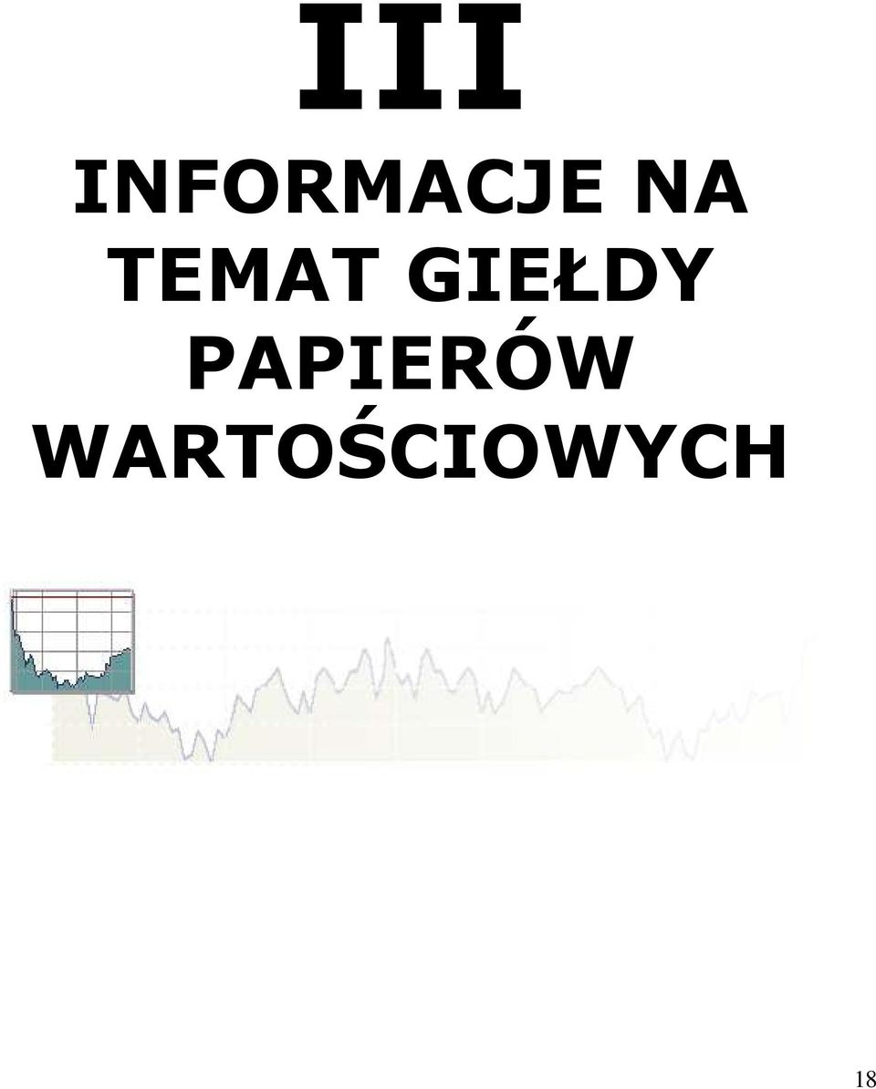 TEMAT GIEŁDY