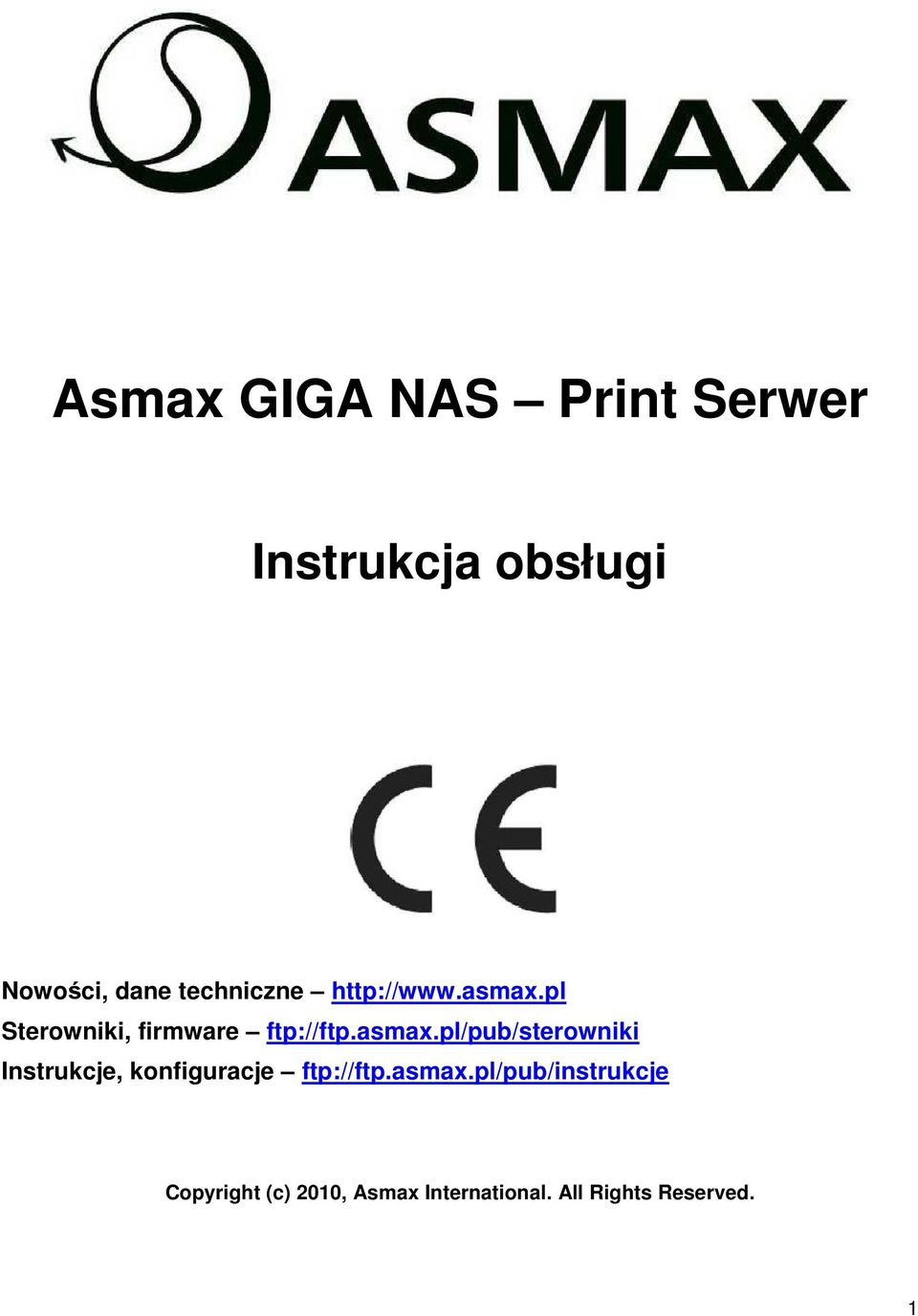 pl Sterowniki, firmware ftp://ftp.asmax.