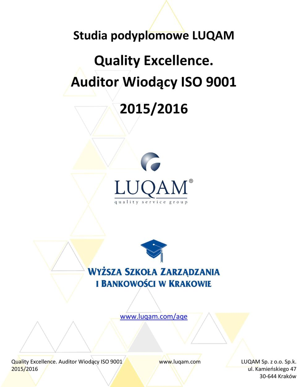 Auditor Wiodący ISO 9001