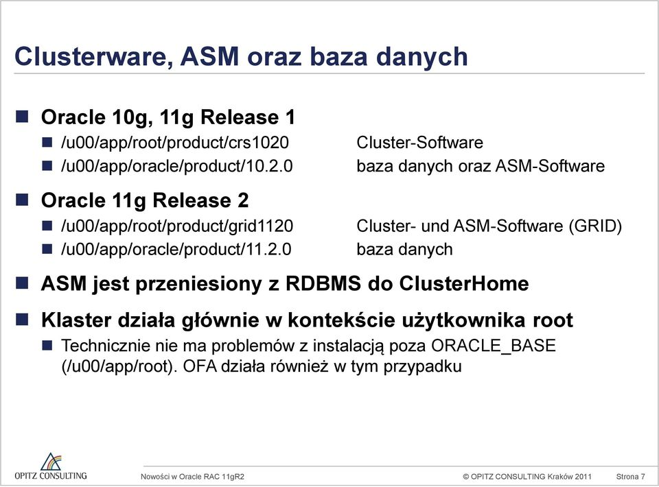 0 Oracle 11g Release 2