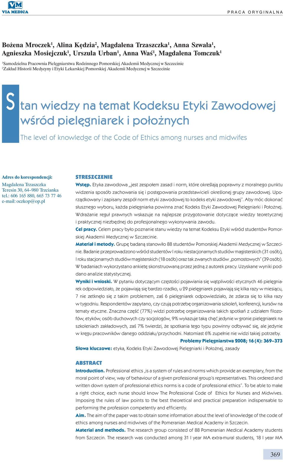 Law and ethics in midwifery