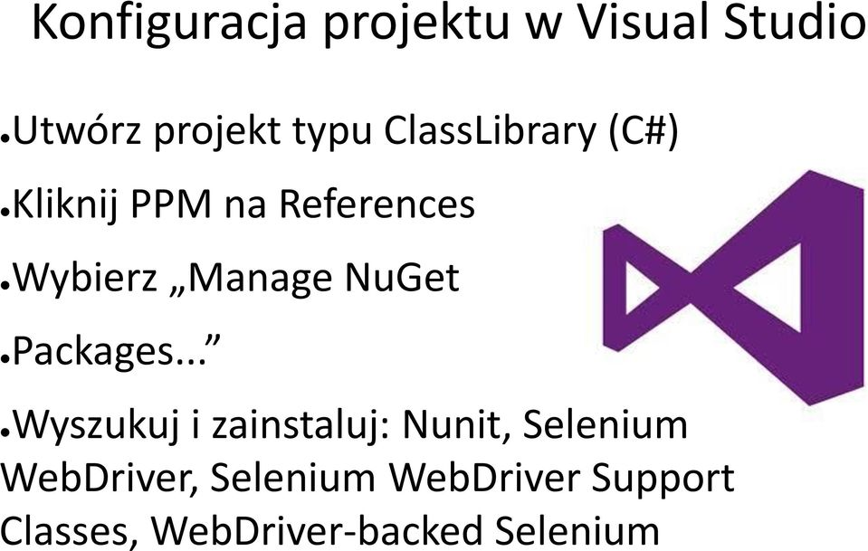 NuGet Packages.