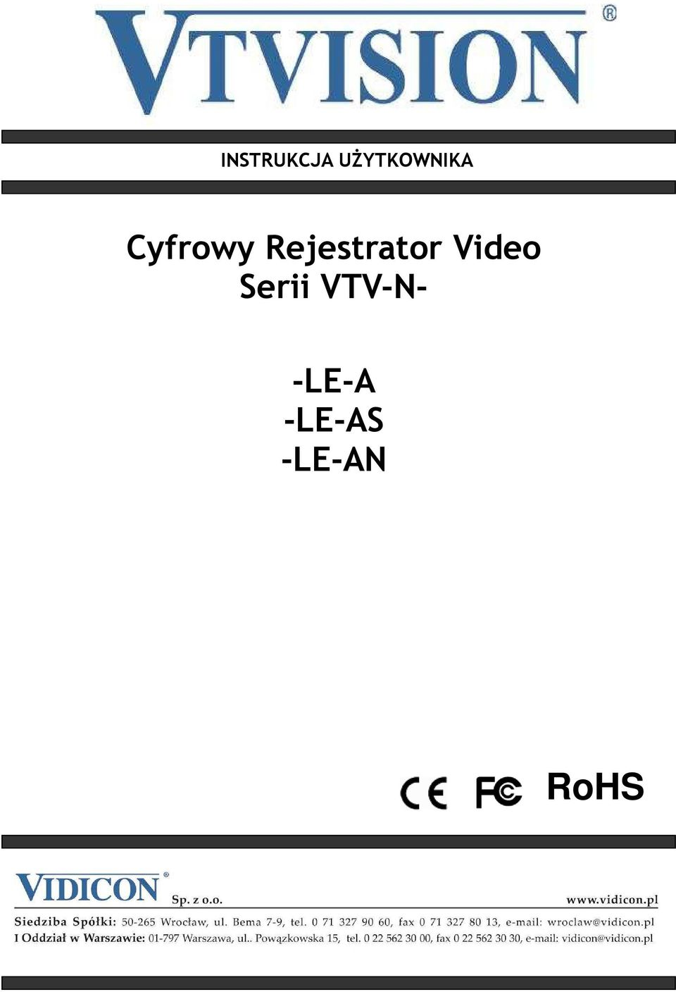 Rejestrator Video