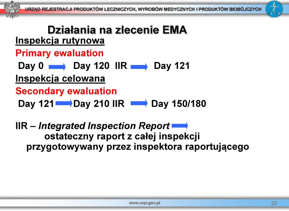 IIR Day 150/180 IIR Integrated Inspection Report ostateczny raport z