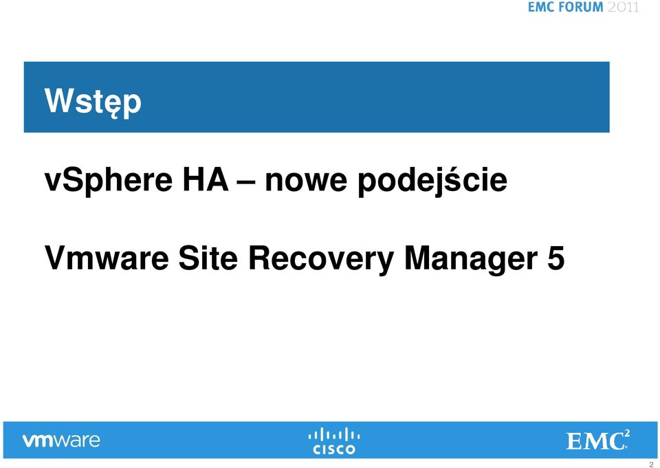Recovery Manager 5