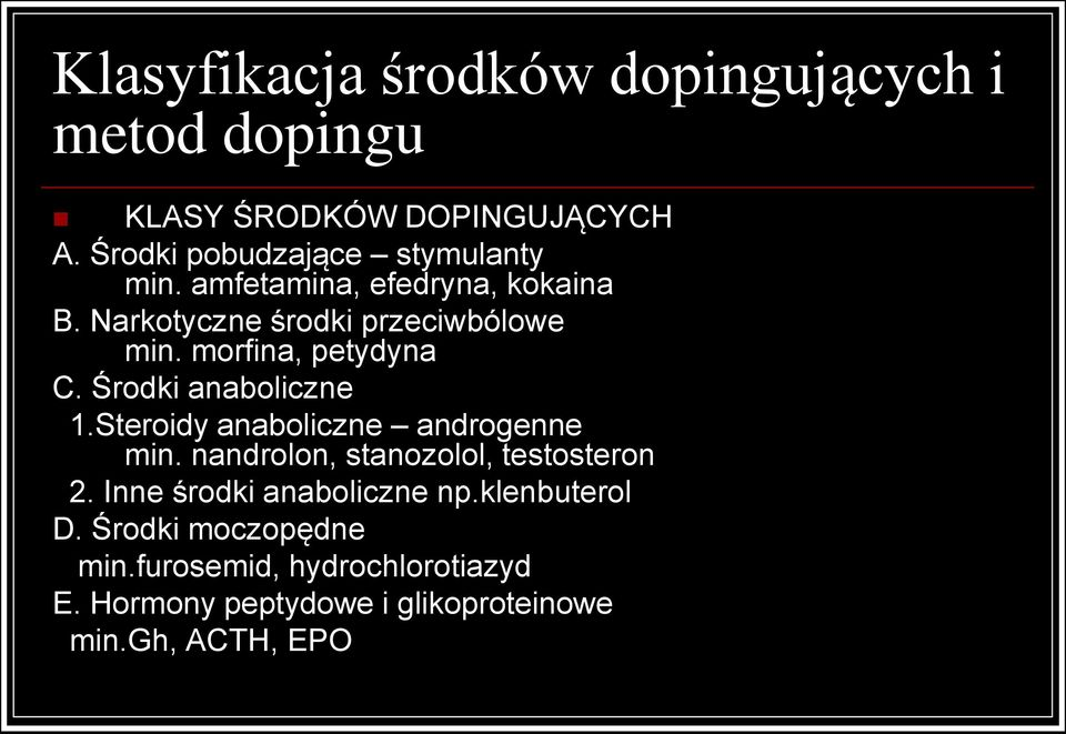 kortykosteroidy doping