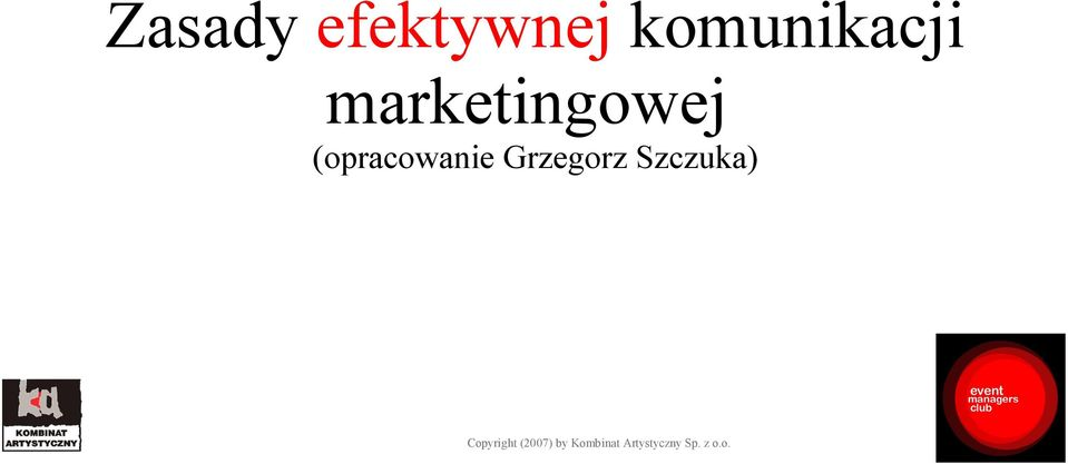 marketingowej