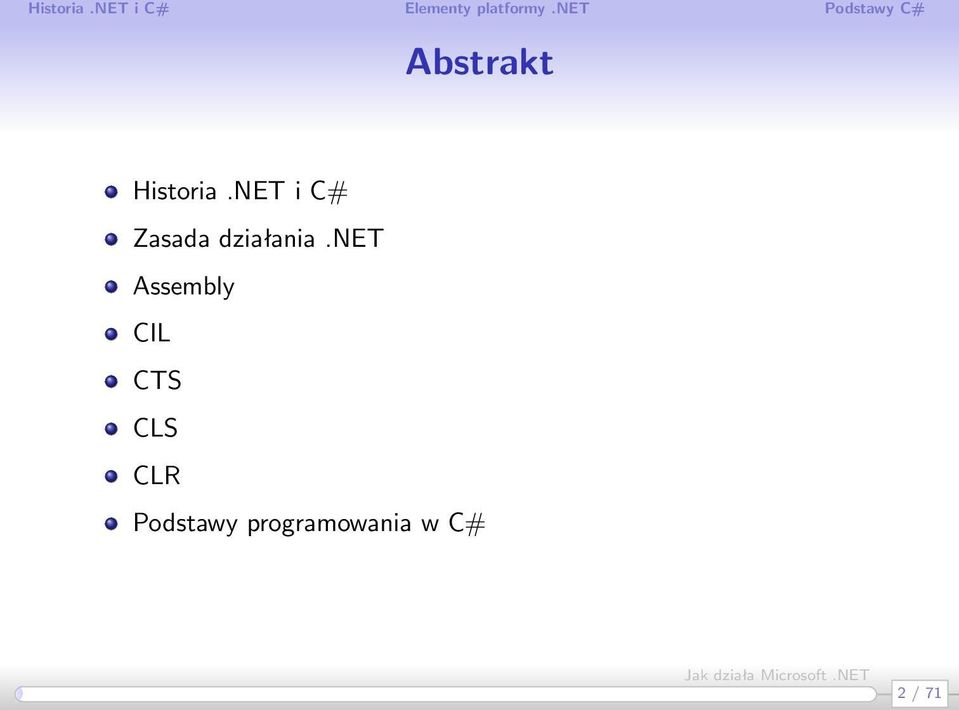 net Assembly CIL CTS CLS