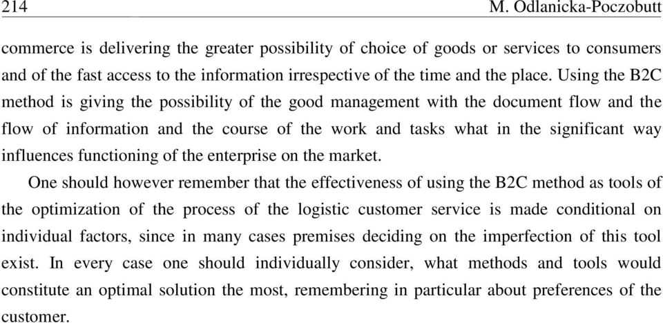 functioning of the enterprise on the market.