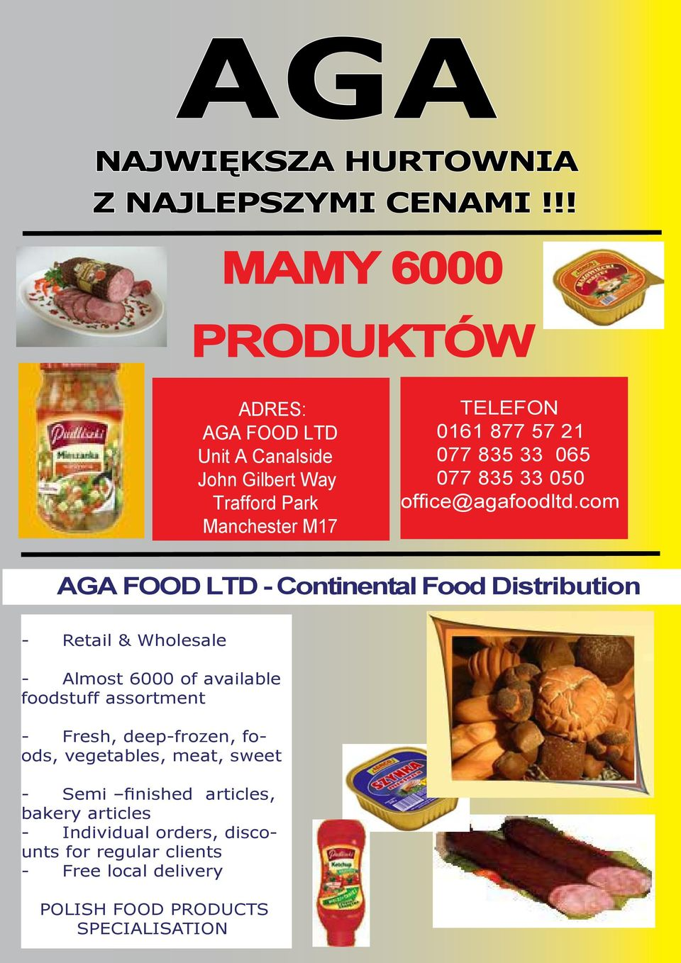 33 0655 077 835 33 050 office@agafoodltd.