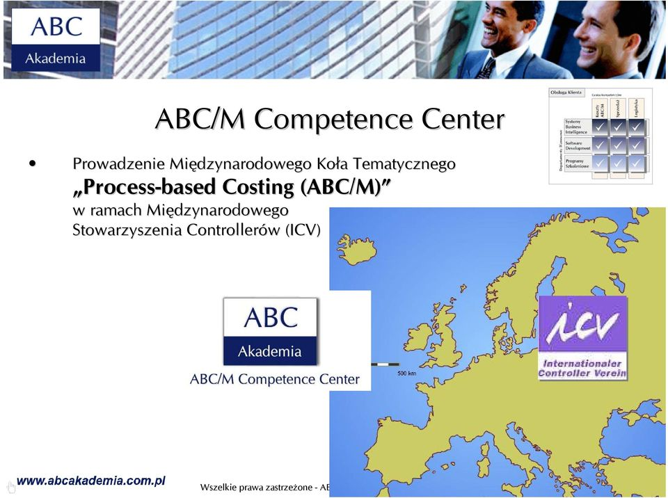 Process-based Costing (ABC/M) w ramach