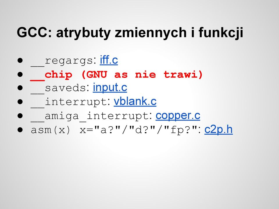 c chip (GNU as nie trawi) saveds: input.
