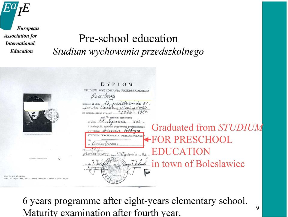 of Bolesławiec 6 years programme after eight-years