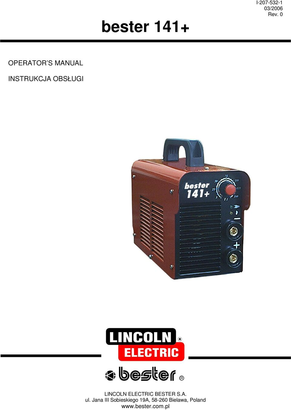 LINCOLN ELECTRIC BESTER S.A. ul.