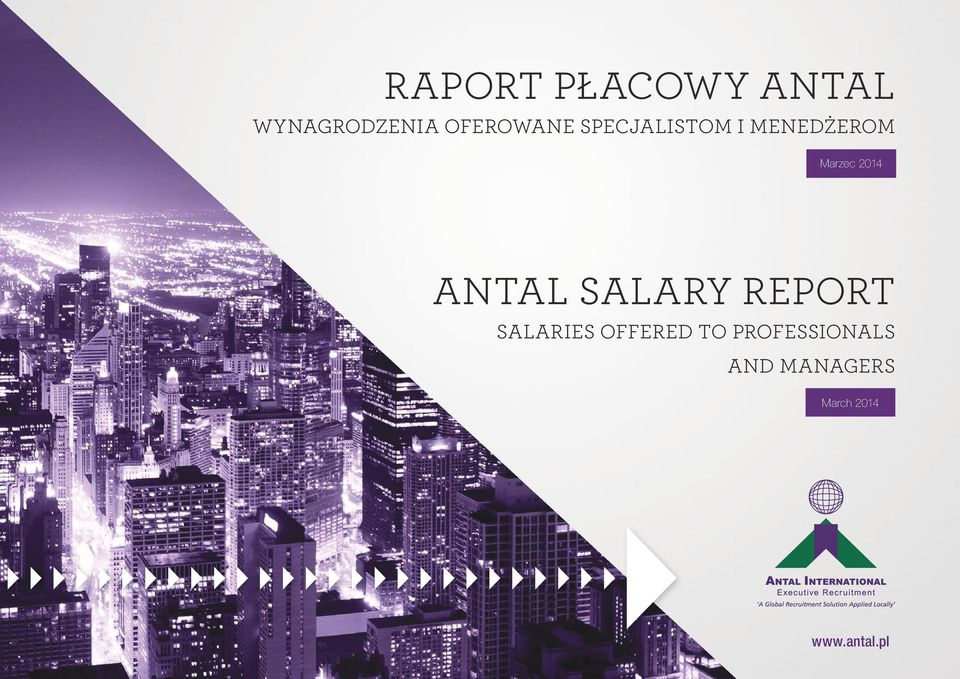 2014 Antal Salary Report Salaries Offered