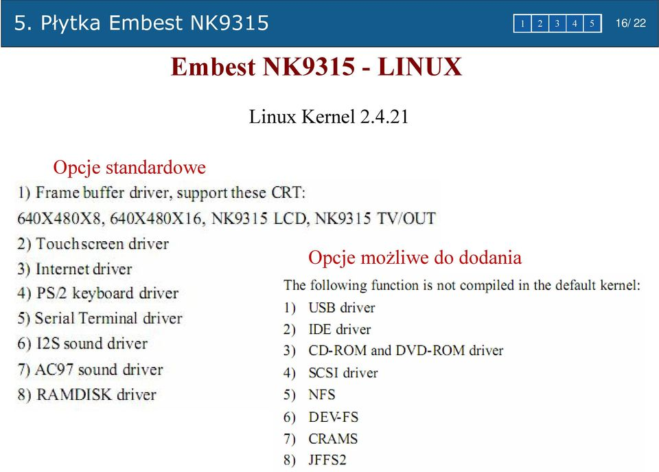 Embest NK9315 - LINUX Linux