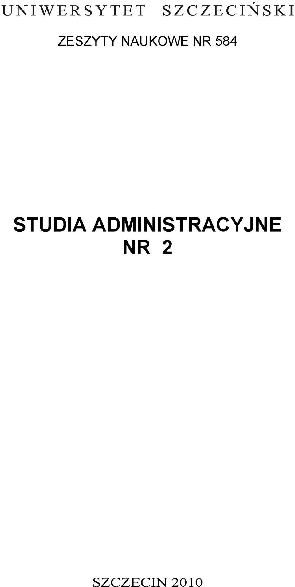 ADMINISTRACYJNE