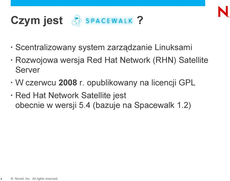 wersja Red Hat Network (RHN) Satellite Server W czerwcu