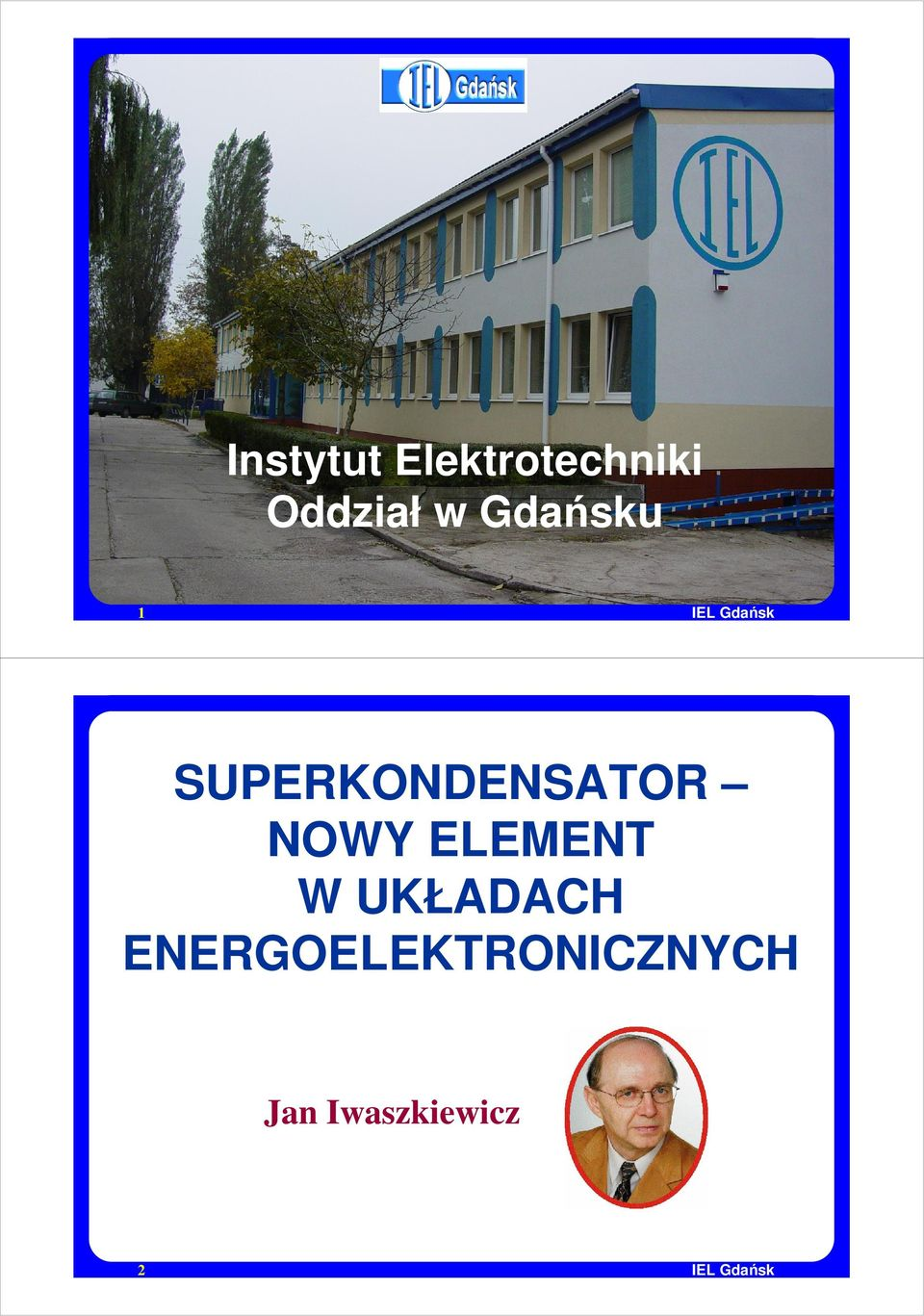 SUPERKONDENSATOR NOWY ELEMENT W