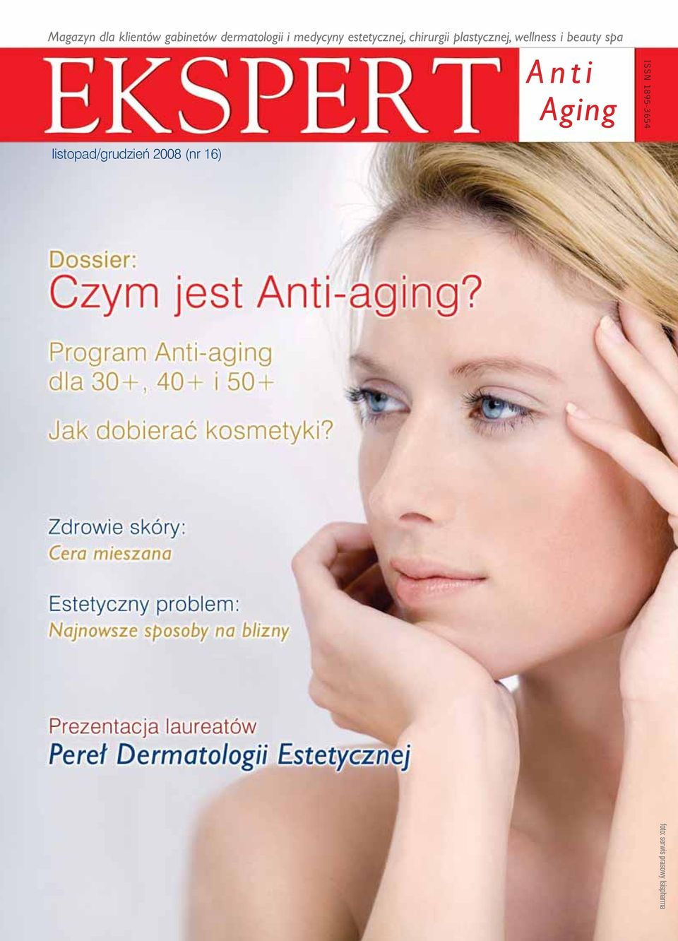 wellness i beauty spa Anti Aging ISSN 1895-3654