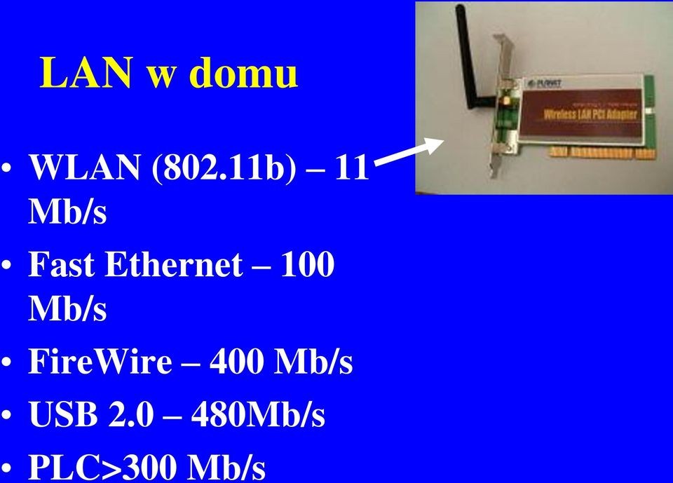 Ethernet 100 Mb/s