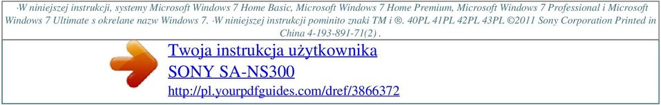 Windows 7 Home Premium, Microsoft Windows 7 Professional i Microsoft Windows 7