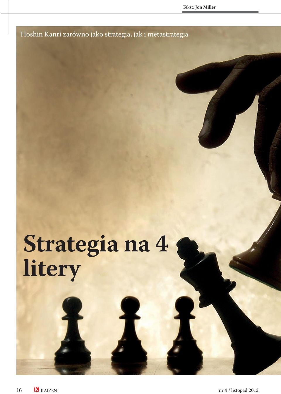 metastrategia Strategia na 4