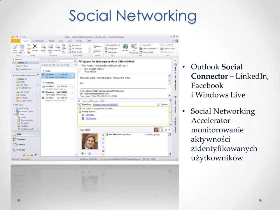 Live Social Networking Accelerator