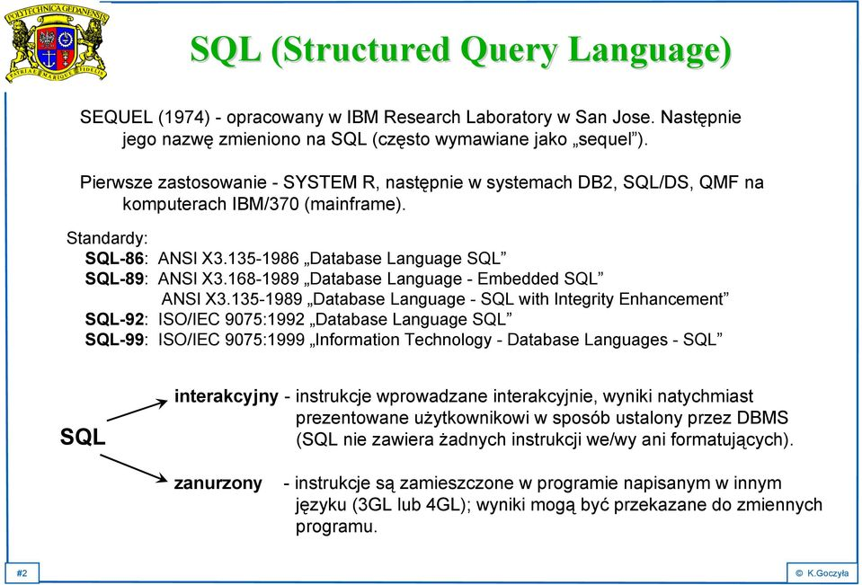 168-1989 Database Language - Embedded SQL ANSI X3.