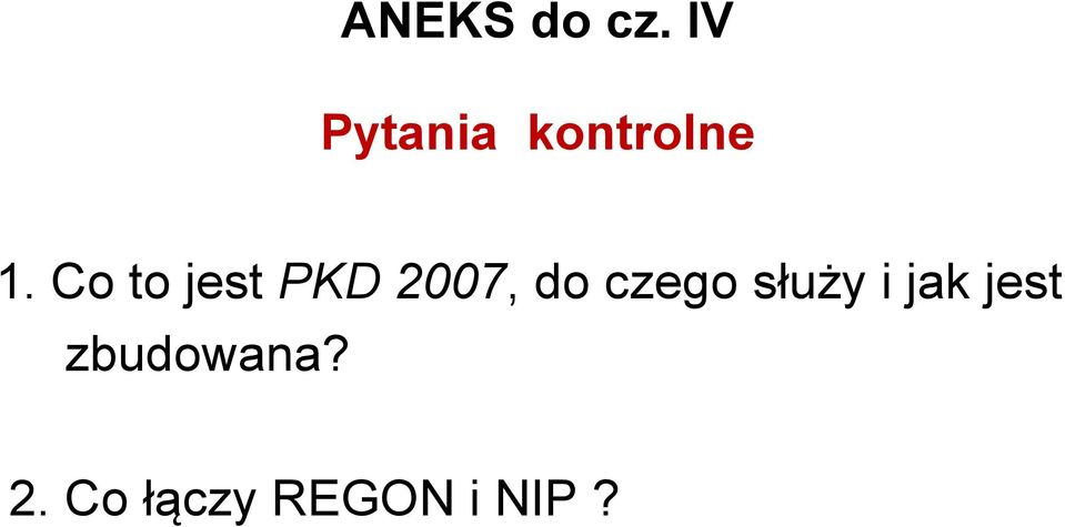 Co to jest PKD 2007, do czego