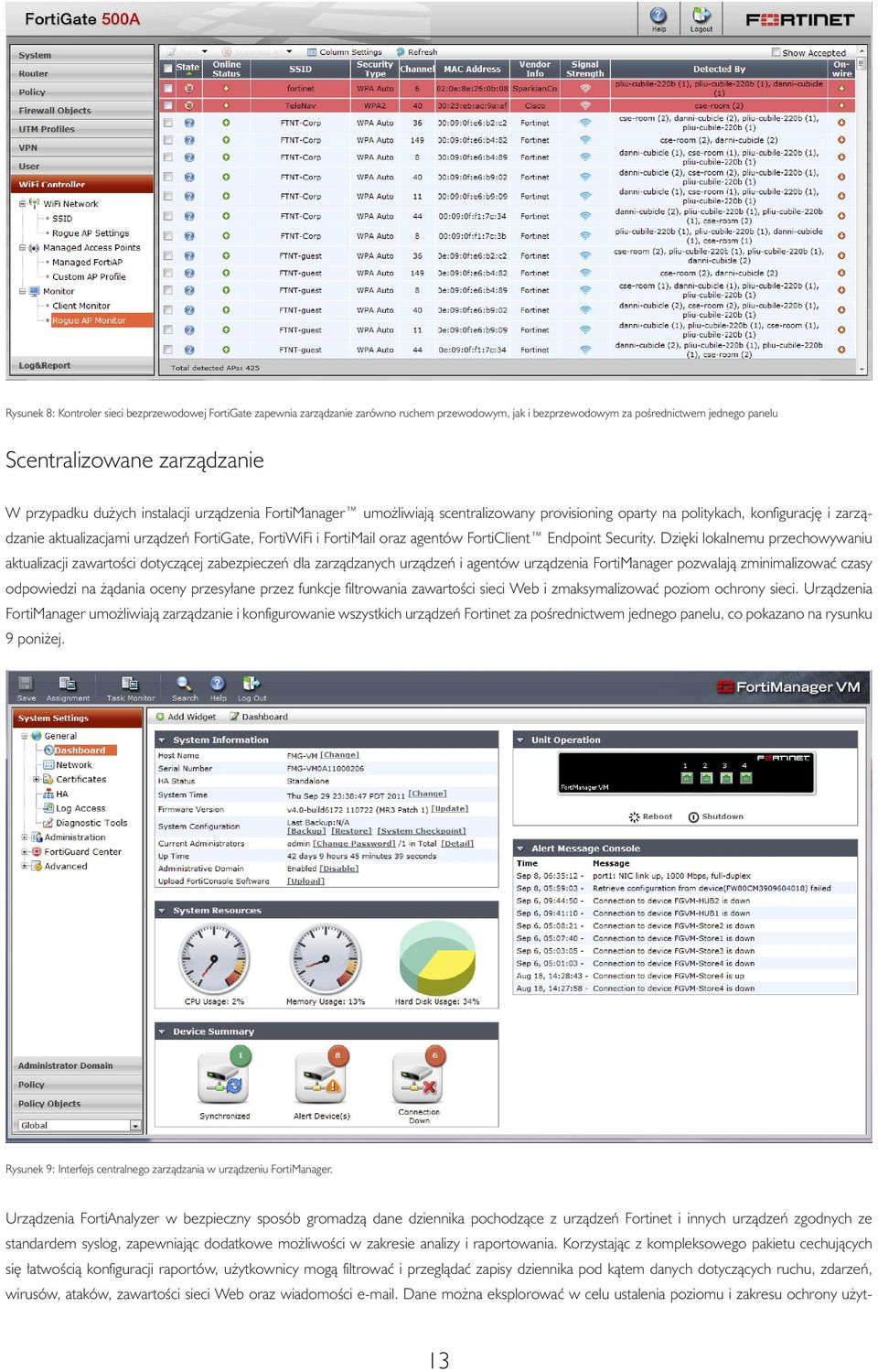 agentów FortiClient Endpoint Security.