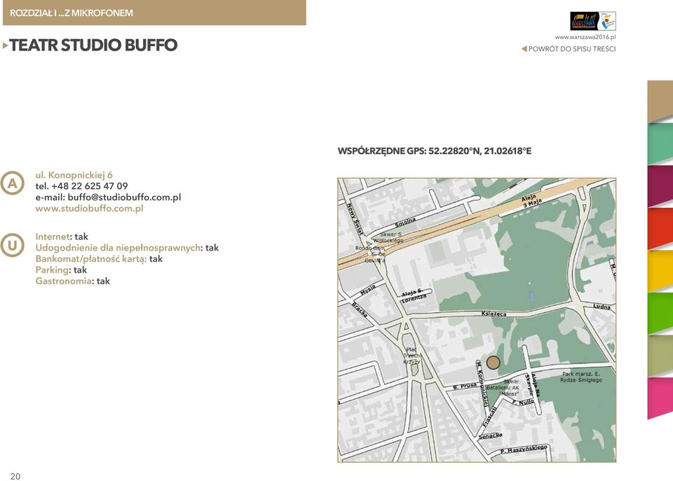 +48 22 625 47 09 e-mail: buffo@studiobuffo.com.