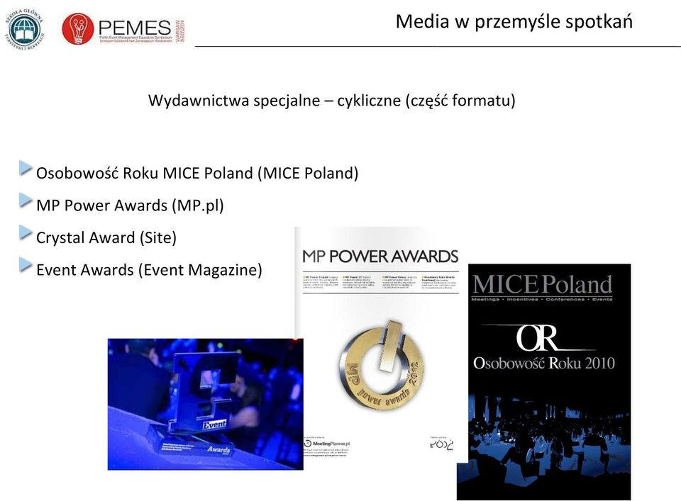(MICE Poland) MP Power Awards (MP.