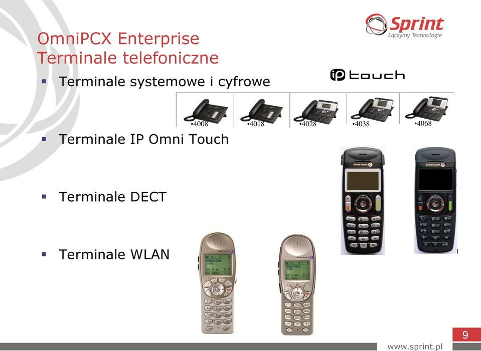 cyfrowe Terminale IP Omni Touch 4008