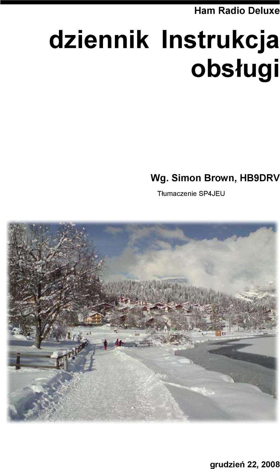 Simon Brown, HB9DRV