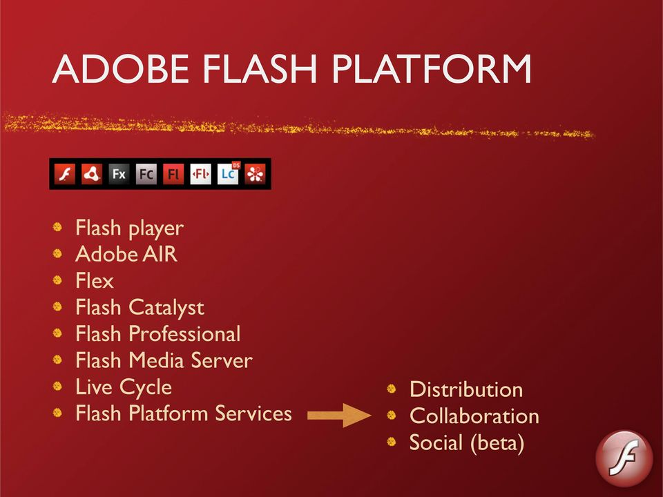 Media Server Live Cycle Flash Platform