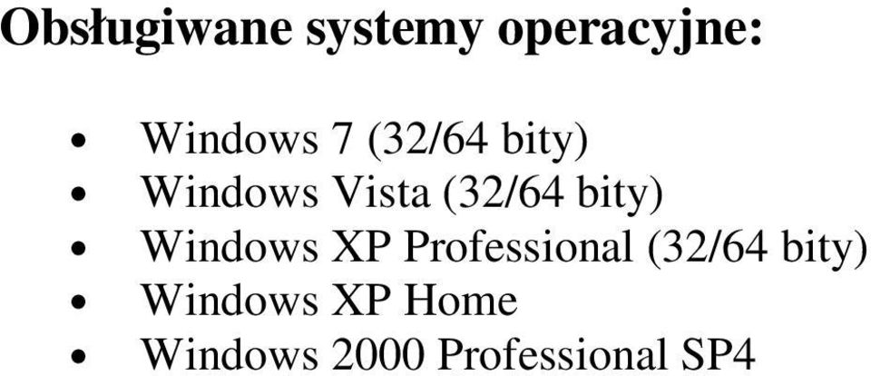 bity) Windows XP Professional (32/64