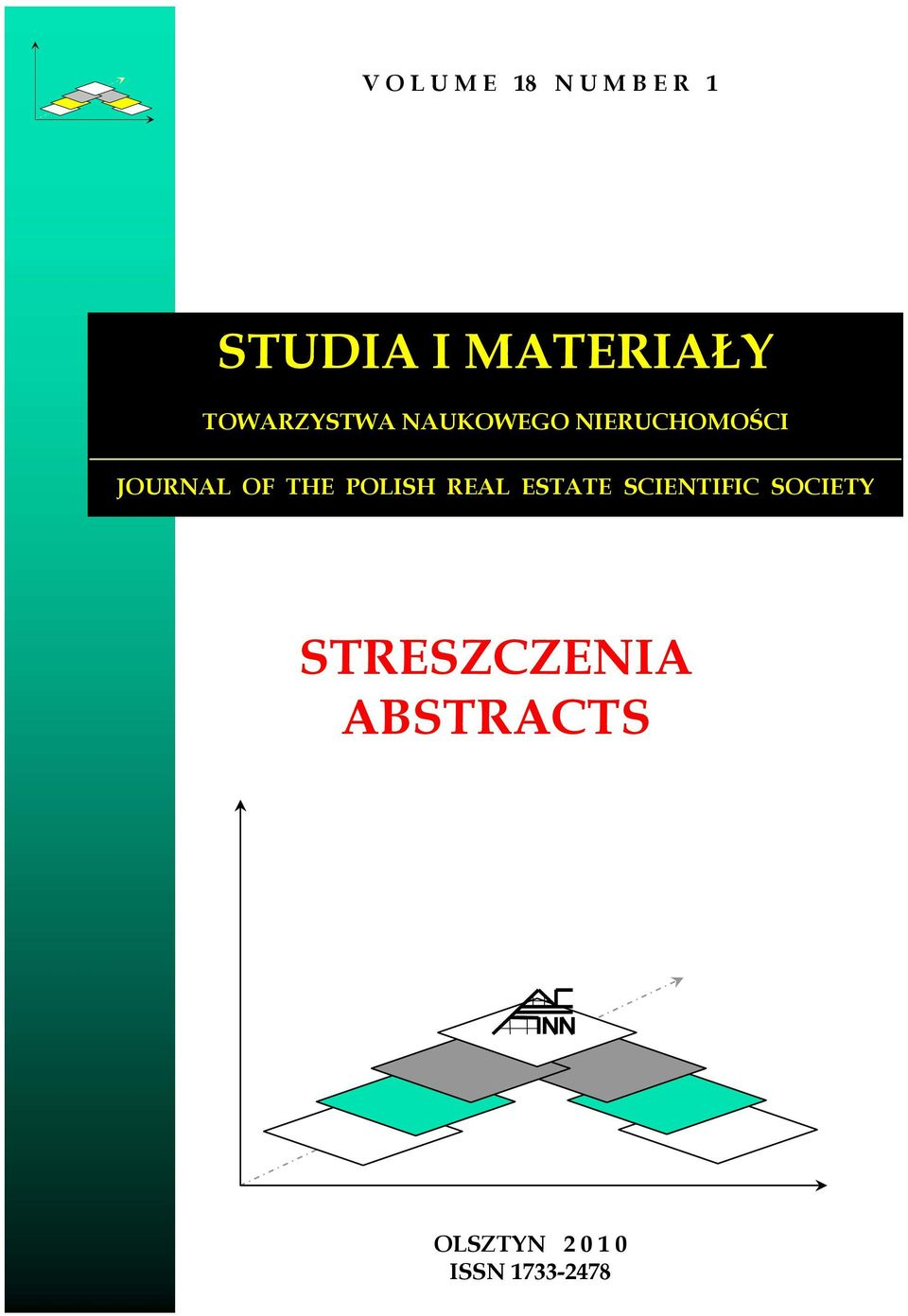 THE POLISH REAL ESTATE SCIENTIFIC SOCIETY