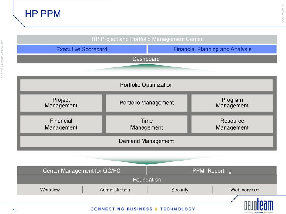 Portfolio Management Program Management Financial Management Time Management Demand Management