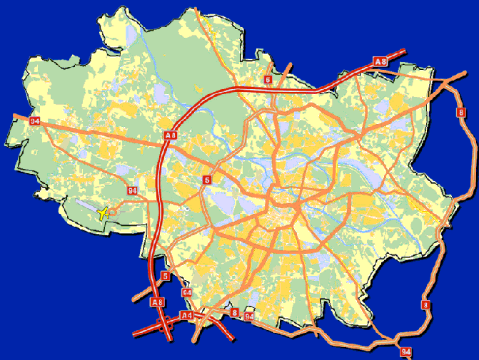 Target roads network