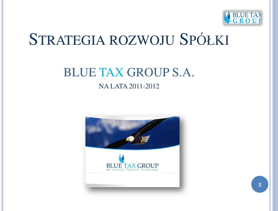 BLUE TAX GROUP