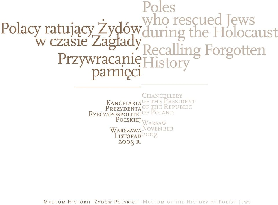 People she helped: Chancellery Kancelaria of the President Prezydenta of the Republic Rzeczypospolitej of