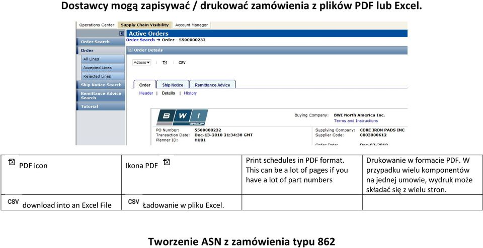 This can be a lot of pages if you have a lot of part numbers Drukowanie w formacie PDF.