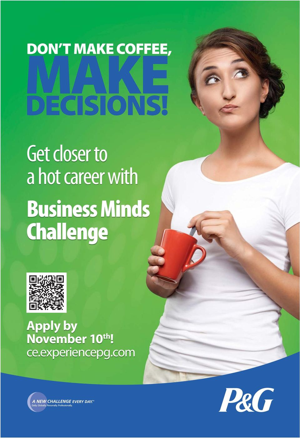 Business Minds Challenge Apply by