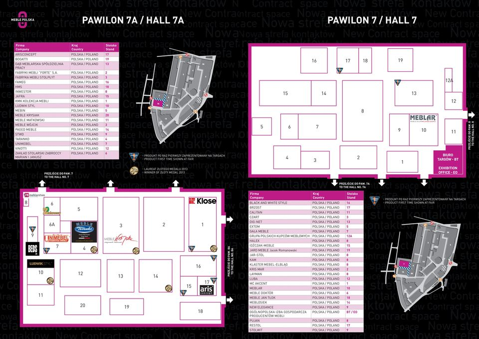 Pawilon 7 / Hall 7 AR