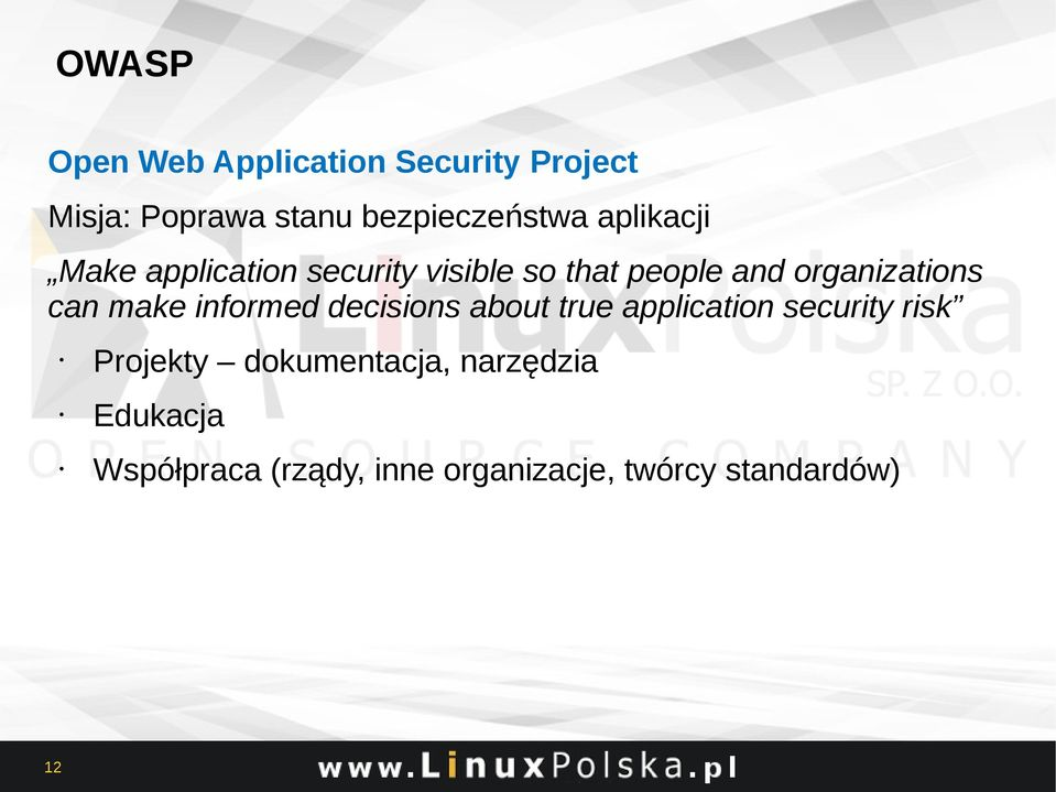 make informed decisions about true application security risk Projekty