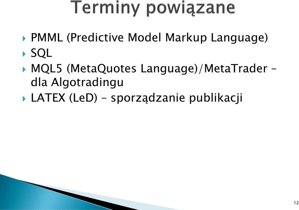 Language)/MetaTrader dla