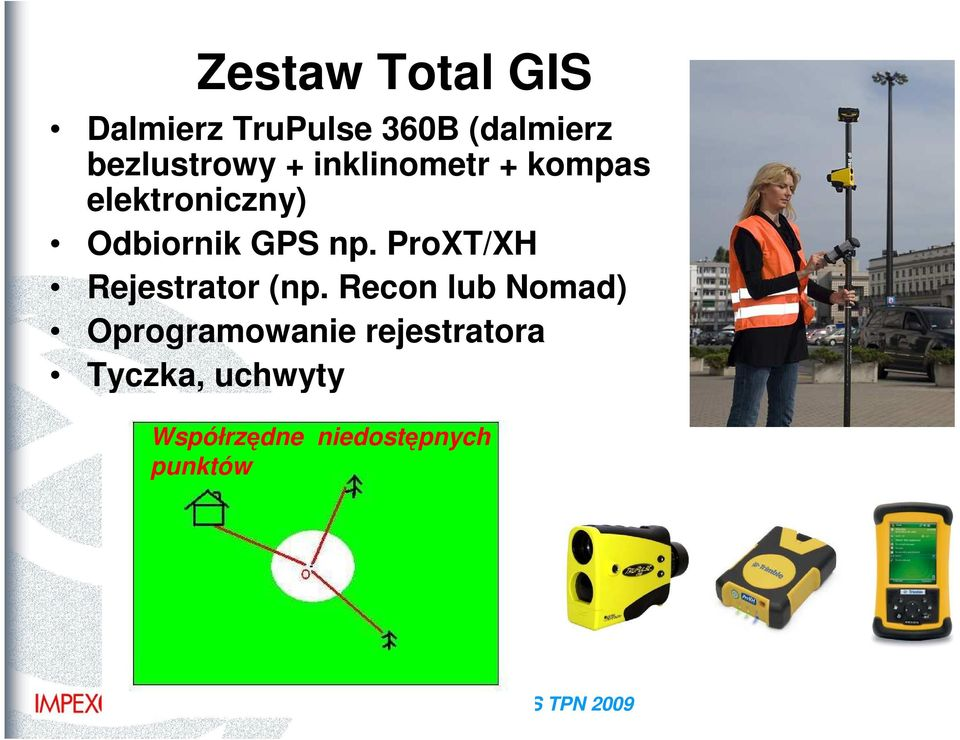 GPS np. ProXT/XH Rejestrator (np.