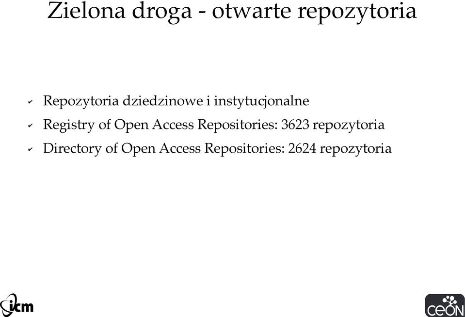 Registry of Open Access Repositories: 3623